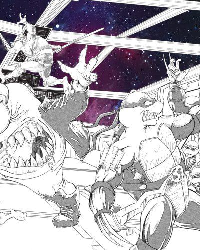 TMNT Adventures Cover 4